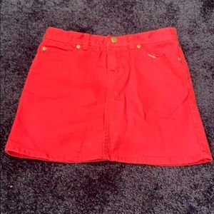 Lilly Pulitzer girls size 8 skirt with shorts